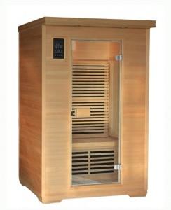 Infrarød sauna til 2 personer